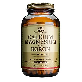 Solgar Calcium Magnesium plus Boron Tablets, 250