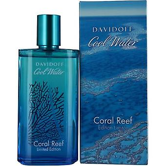 Cool Water Coral Reef By Davidoff Edt Spray 4.2 Oz (Limited Edition)