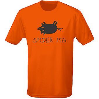 Spider varken Mens T-Shirt 10 kleuren (S-3XL) door swagwear