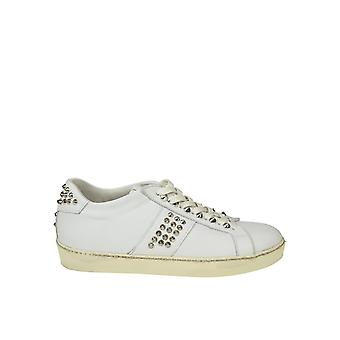Leather Crown men's MICONIC15 White leather of sneakers