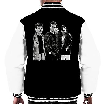 The Smiths Closeup From Salford Lads Club 1985 Men's Varsity Jacket