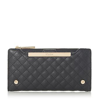 Dune KIAMH Quilted Purse in Black