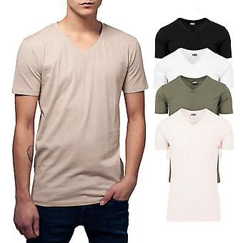 Urban Classics - BASIC V-Neck Shirt