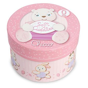 Chicco Soft Teddy Bear Cuddles Rosa