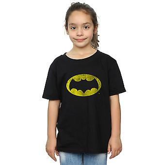 DC Comics Girls Batman TV Series Distressed Logo T-Shirt