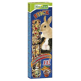 Tyrol Stick Xxl For Big Rodents And Rabbits With Honey And Vegetables