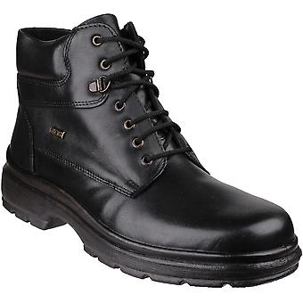 Cotswold Mens Swell Casual Lace Up Leather Ankle Boots