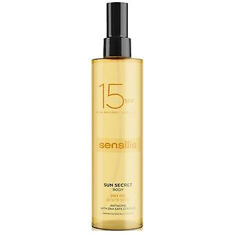 Sensilis Sun Secret Protective Body Oil Spf 15 (Cosmetics , Body  , Sun protection)