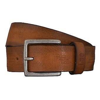 Cinturones de hombre Lee cinturones cuero Cognac correa 5421