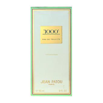 Jean Patou 1000 Eau De Toilette Spray 3,0 Oz/90 ml neuf en boîte