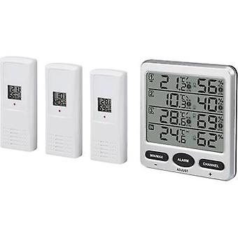 Renkforce Wireless thermo-hygrometer Silver