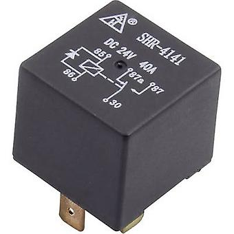 Automotive relay 12 Vdc 40 A 1 change-over SHR-41