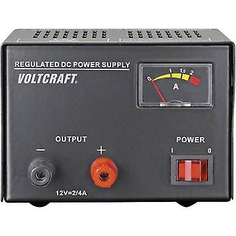VOLTCRAFT FSP-1122 Bench PSU (fixed voltage) 12 Vdc 2 A 25 W No. of outputs 1 x