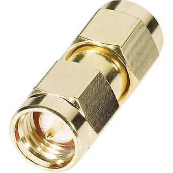 SMA reverse polarity adapter SMA reverse polarity plug - SMA plug BKL Electronic 0419114 1 pc(s)