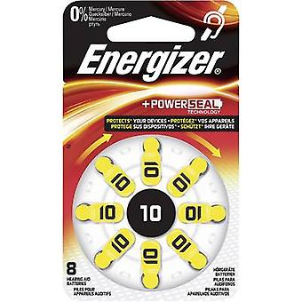 Button cell ZA10 Zinc air Energizer Hearing Aid PR70