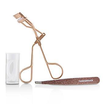 Tweezerman Rose Gold Glam Up Gift Set - 2pcs