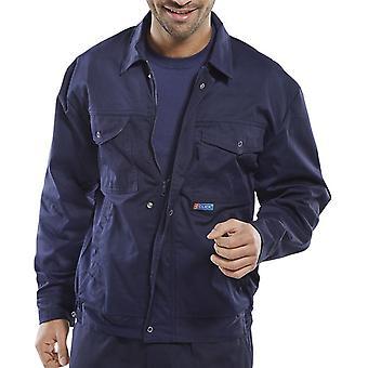 Super kliknij tkaniny sytowe sterowniki Jacket Navy - Pcjhw