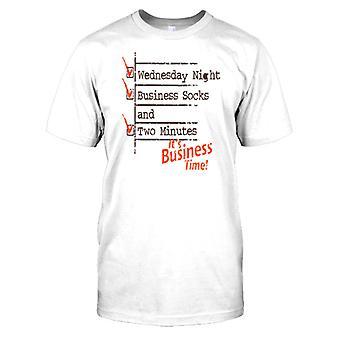 Wednesday Night Business Socks Kids T Shirt