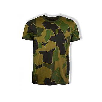 Fred Perry Arktis X Fred Perry Short-Sleeved T-Shirt (Woodland Camo)