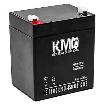 KMG 12V 5Ah Replacement Battery for B & B Battery HR5.5-12 SH4.5-12