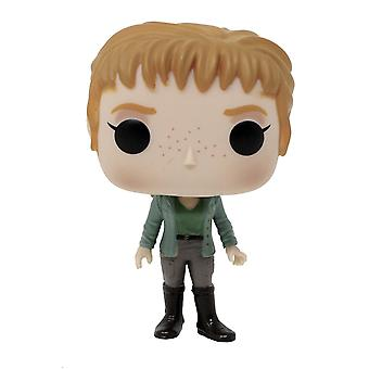 Jurassic world: Fall pop Kingdom! Vinyl figure Claire made of plastic, Funko, in gift box.
