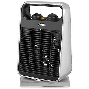Unold 86116 Fan heater Black, Silver