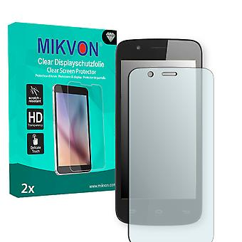 Prestigio MultiPhone 5504 Duo Screen Protector - Mikvon Clear (Retail Package with accessories)