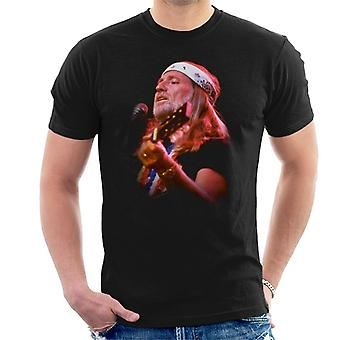 TV Zeiten Willie Nelson Live Herren T-Shirt