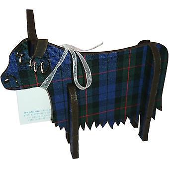 Highland vaca 3D permanente medio Glen Check