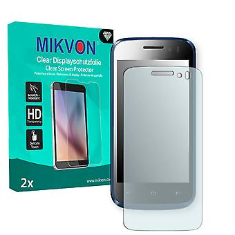 Kazam Trooper X4.0 Screen Protector - Mikvon Clear (Retail Package with accessories)