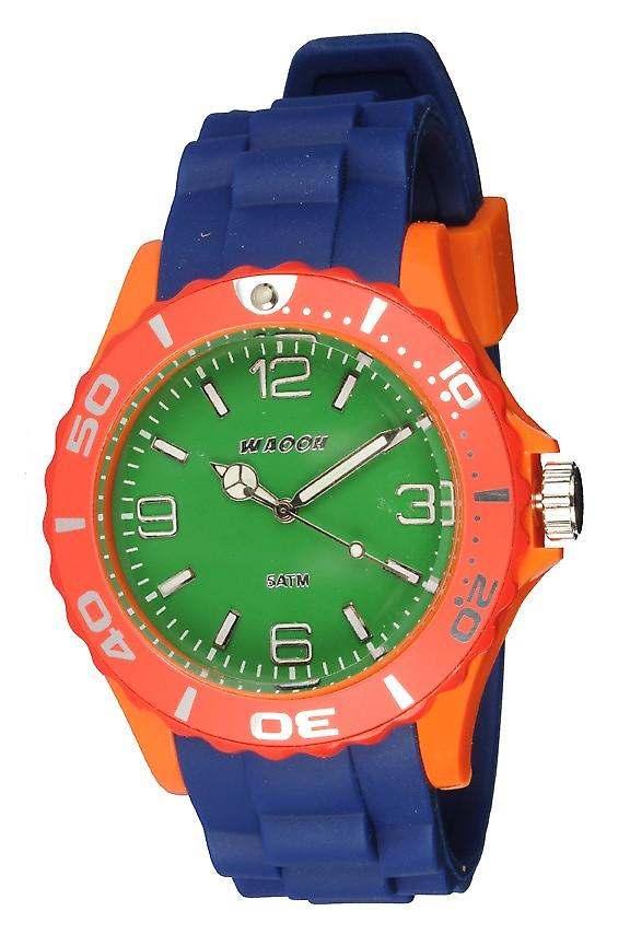 Waooh - Watch MC42 Multicolor Red & Green