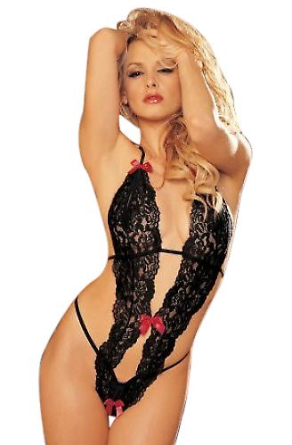 Waooh 69 - Body Sexy Lace With Bow Cristala