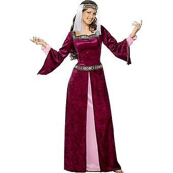 Maid Marion Costume, UK Dress 8-10
