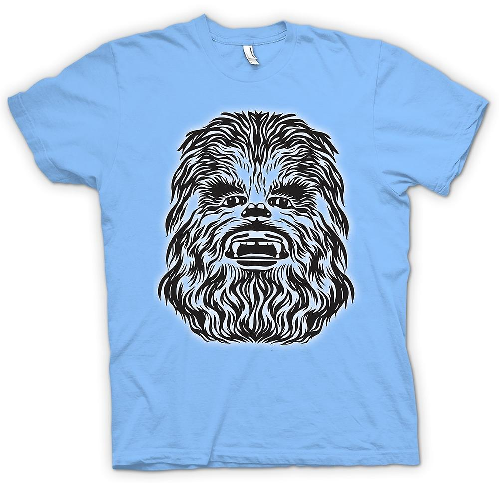Mens t-skjorte - Star Wars - Chewbacca