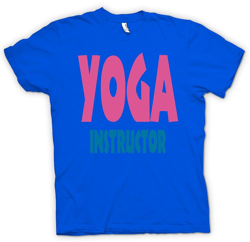 Mens t-shirt - Yoga Istruttore Martial Art - Slogan