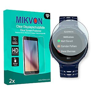 Garmin Forerunner 630 Screen Protector - Mikvon Clear (Retail Package with accessories)