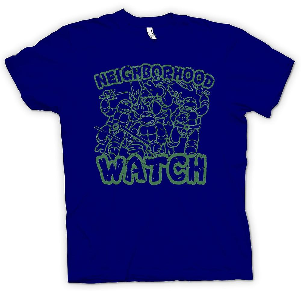 Hommes T-shirt - Teenage Mutant Ninja Turtles - Neighborhood Watch