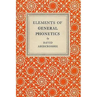Elements of General Phonetics by David Abercrombie - 9780852244517 Bo