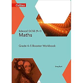 EDEXCEL Stiftung Booster Workbook: Targeting Klasse 4/5 (Collins GCSE Mathematik)
