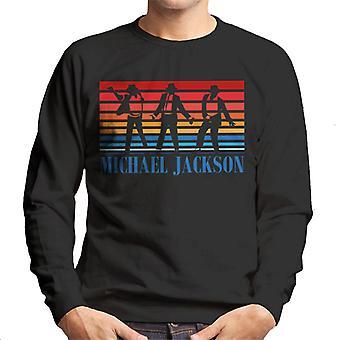 Michael Jackson Colour Dance Silhouettes Men's Sweatshirt