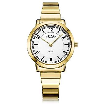 Rotary | Ladies Gold Plated Bracelet | LB00766/18 Watch