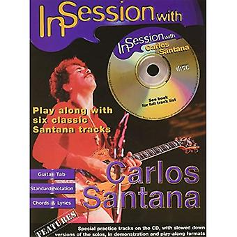 In Session with Carlos Santana: (Guitar Tab)