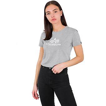 Alpha industries kvinnors T-T-shirt-nya basic
