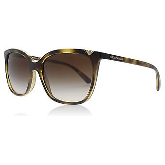 Emporio Armani EA4094 502613 Dark Havana EA4094 Square Sunglasses Lens Category 3 Size 56mm