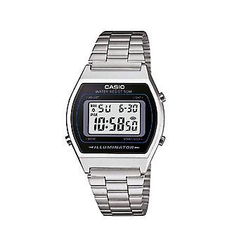カシオ コレクション B640WD-1AVEF、デジタル時計 LED ライト, シルバーの