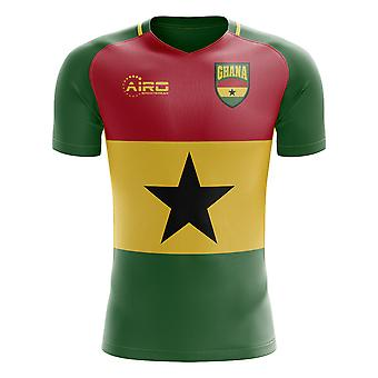 2019-2020 Ghana Flag Concept Football Shirt - Kids