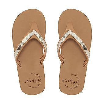 Animal Swish Slim Flip Flops
