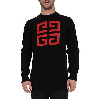Camisola de algodão preto de Givenchy