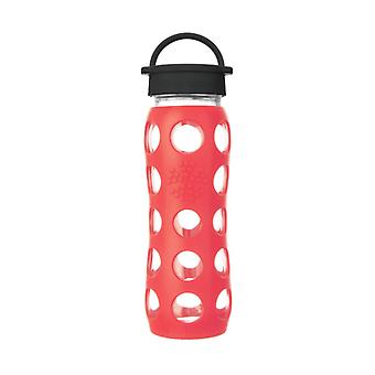 Lifefactory 22 oz Glass Bottle Core 2.0 Poppy
