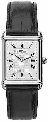 Michel Herbelin Mens, Analogue Quartz, Leather Strap 17468/08 Watch